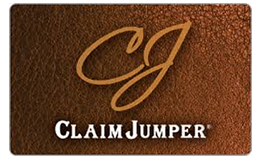 Claim Jumper Restaurant Gift Card